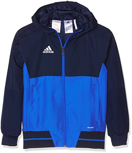adidas Kinder Tiro 17 Präsentationsjacke, Collegiate Navy/Blue/White, 152
