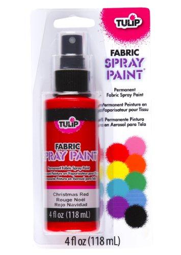 Tulip 26563 Vaporisateur de Peinture Permanente pour Tissu de 118 ml Couleur Rouge Noel