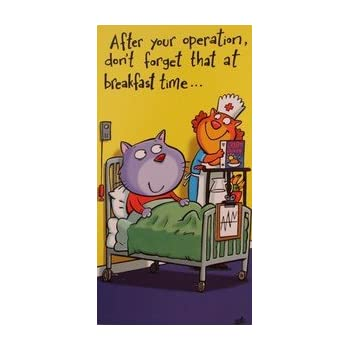 Doctors and Nurses from The Ladybird Books For Grown-Ups Range WW-LA035 - Get Well Soon Greeting Card