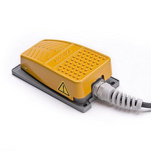 Industrie Fußpedalschalter Fußschalter Trittschalter Fußtaster 10A 250V Tritttaster - 3