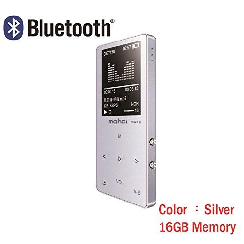 Original en métal écran tactile Bluetooth lecteur MP3 16 Go intégrée Haut-parleur Mini lecteur de musique avec radio FM Enregistreur vocal e-book