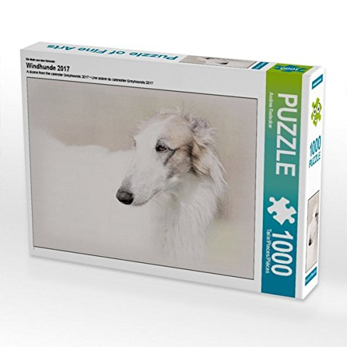 lender Windhunde 2017 1000 Teile Puzzle quer ()