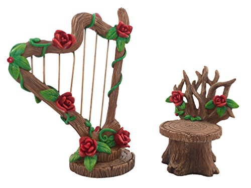 miniature-rose-harp-and-chair-set-for-the-fairy-garden-miniature-garden-accessory-for-the-fairy-figu