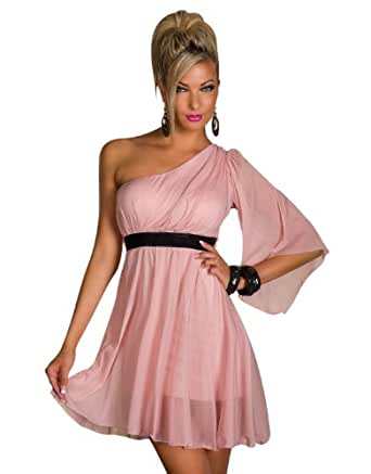 4881 Femme mini-robe stretch taille 34/36/tulle rose