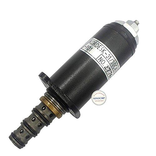 Sinocmp Pompe hydraulique Électrovanne Yn35 V00019 F1 Kdrde5 K-31/30 C40-101 (Point Vert) pour Kobelco SK200-3