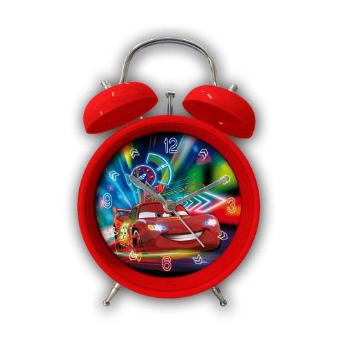 Disney Pixar EL51059 - Cars Wecker, 12 cm (Cars Disney Wecker)