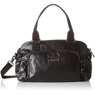 Kipling Women's Alecto Baguette, Metallic Black, 31.5x19.5x16 cm (B x H x T)