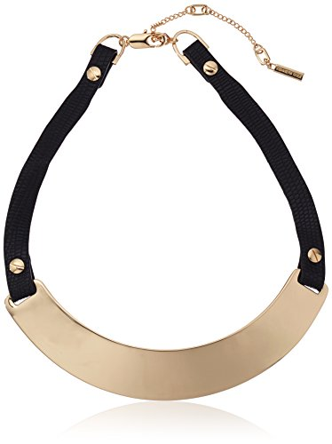kenneth-cole-new-york-flat-mate-sculptural-collar-leather-necklace