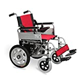 GYH Electric Wheelchair, Elderly Disabled Automatic Wheelchair, Foldable Nursing Four-Wheel Electric Scooter, Load Capacity100kg (#)