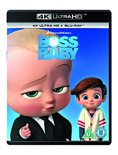 The Boss Baby [Blu-Ray] [Region Free]