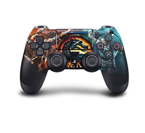 PS4 DualShock Wireless Controller Pro Konsole - Neueste PlayStation4 Controller mit weichem Griff und exklusiver individueller Version Skin (PS4-Mortal Kombat)