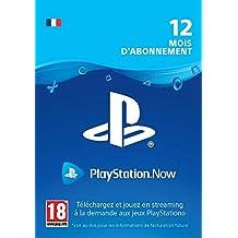 PlayStation Now - abonnement de 12 mois | Code PS4  Jeu à télécharger - Compte français