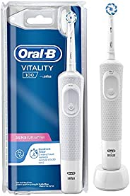 Oral-B Vitality 100 Sensitive Ultrathin, Rechargeable toothbrush with UAE 3 pin plug