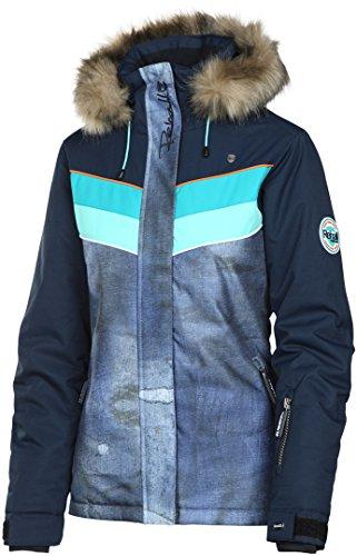 Rehall Damen Skijacke/Snowboardjacke Kara-R Jeans (305) L