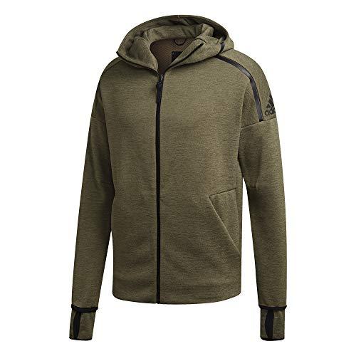 Z FeatFast Zipper n TopHomme Vert Khaki Track Adidas Htrraw Hooded Kakizne Release L eHoodie vw80Nmn