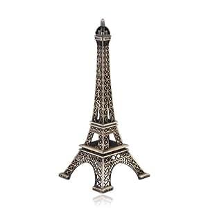 Appollo23 Tour Eiffel miniature en métal 18cm
