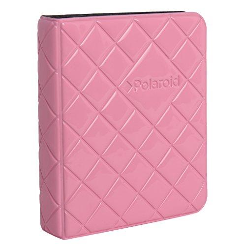Polaroid 64-Taschen Fotoalbum mit Fenster-Deckblatt für 5 x 7,5 cm Fotopapier (Snap, Zip, Z2300) - Pink