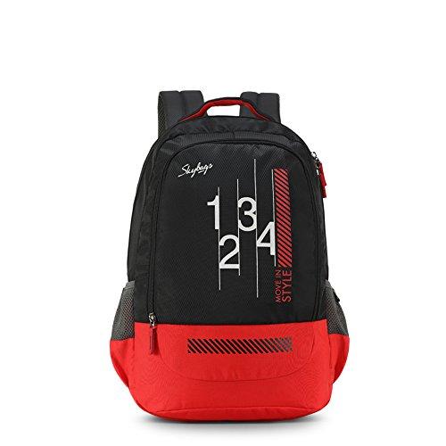 Skybags Luke 27 Ltrs Black School Backpack (SBLUK01BLK)
