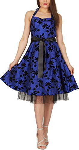 Maisy' Satin Essence Rockabilly-Kleid - 5