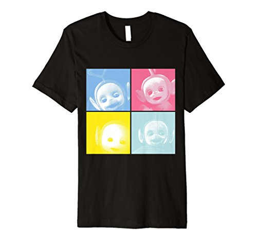 Teletubbies in Squares T-shirt for Men or Women- S to 3XL
