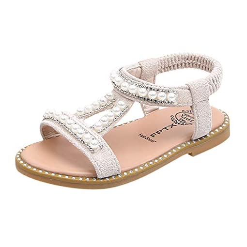 f782da466593a IGEMY_ Girls Pearl Shoes,Toddler Infant Kids Baby Girls Pearl ...