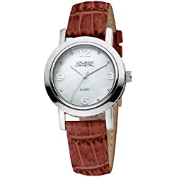Caleido Crystal Damen-Armbanduhr Analog Quarz CAC-08