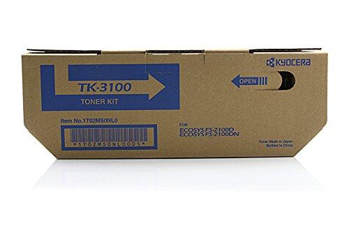 Preisvergleich Produktbild Original Toner passend für Kyocera FS-2100 DN Kyocera TK3100 , TK-3100 02MS0NL0 , 0T2MS0NL , 1T02MS0NL0 , 2MS0NL0 , T2MS0NL - Premium Drucker-Kartusche - Schwarz - 12.500 Seiten