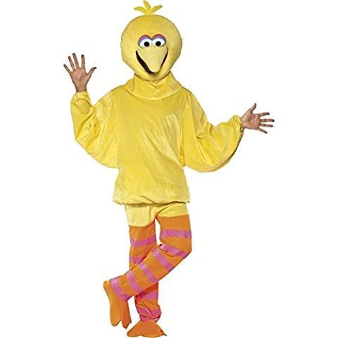 Vogelkostüm Bibo Lizenzkostüm Sesamstraße Vogel Kostüm M 48/50