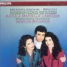 Mendelssohn-Concerto2pianos-Bruch-Concerto2piano-K&M.Labeque