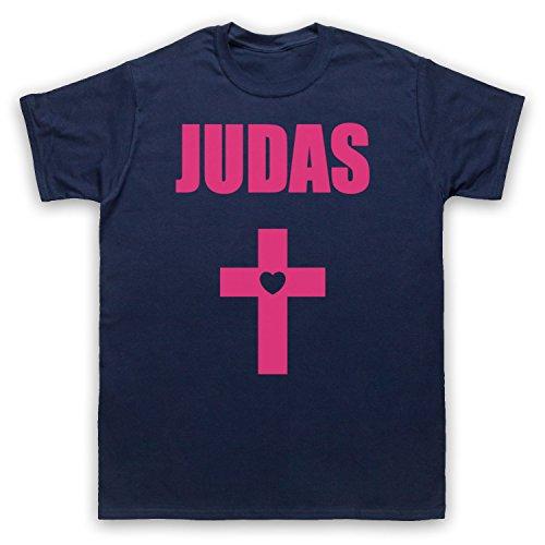 Inspiriert durch Lady Gaga Judas Cross Born This Way Unofficial Herren T-Shirt Ultramarinblau