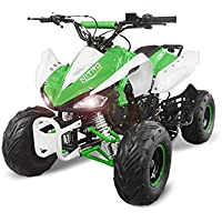 "Nitro Motors Speedy 125cc RG7 Quad 7"" Automatik + RG Atv Bike Midi Kinderquad"