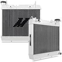 Mishimoto mmps-trx450r-04 Radiador de aluminio para Honda TRX450R