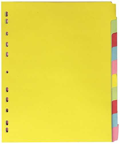 elba-a4-extra-wide-10-part-card-divider-assorted