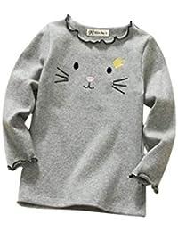 DEBAIJIA Bebe Infantil Recién Nacido Camisa Blusas Niña de Sweatshirt Lindo  Transpirable Suave Cómodo Mantener… 7b869f5a8a2f