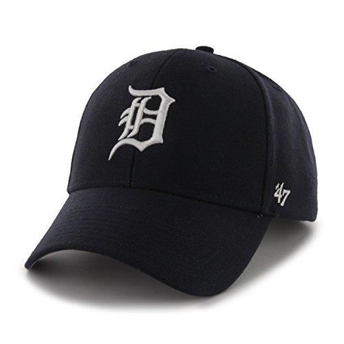 47 MVP Detroit Tigers Herren Kappe Blau, Blue, Einheitsgröße (Detroit Tigers)