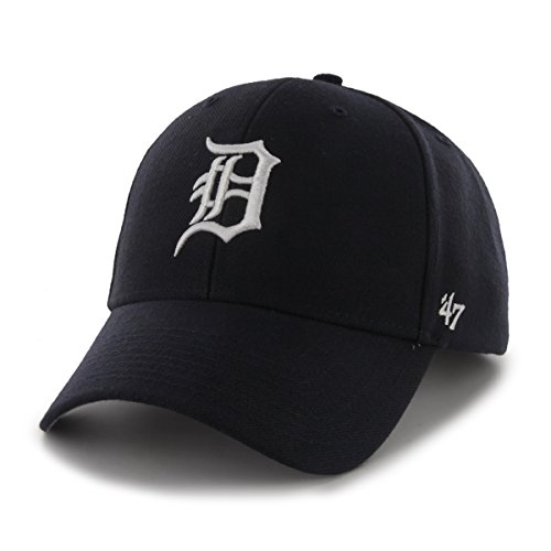 47 MVP Detroit Tigers Herren Kappe Blau, Blue, - Magnum Pi Kostüm