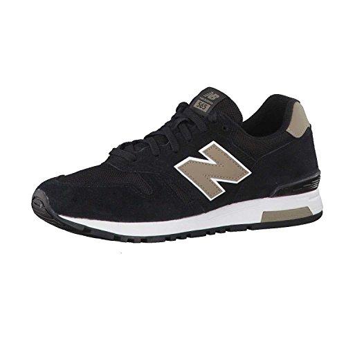 New Balance M565 Classic, Running Homme, Gris Noir