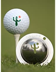 Tin Cup Cactus Cantina Golf Ball Custom Marker Alignment Tool by Tin Cup