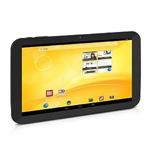 TrekStor Volks-Tablet PC mit 3G 25,6 cm (10,1 Zoll) (ARM Cortex A7, Quad-Core, 1,3 GHz, 1 GB RAM, 16 GB HDD, Android, Touchscreen) schwarz