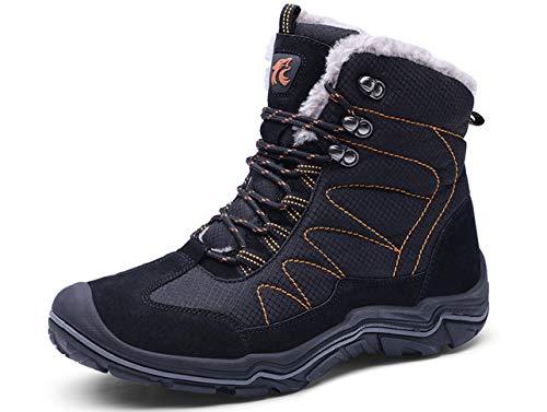 GJRRX Herren Baumwollschuhe Herren Atmungsaktiv Outdoor Off-Road Running Wandern Schuhe Trekking Camping Turnschuhe Lace-up High-top Sports Casual Footwear 38-46