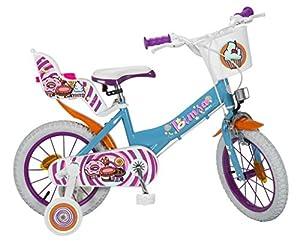 TOIMSA 14110 Sweet Fantasy - Bicicleta de 14 Pulgadas (4-6 años)
