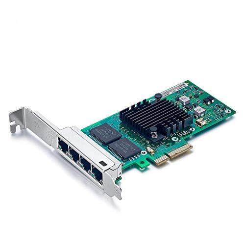 10Gtek® Gigabit PCIE Tarjeta De Red I350-T4 - Intel