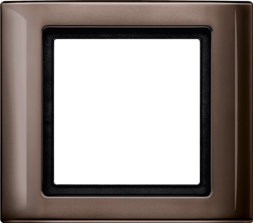 Preisvergleich Produktbild Merten 400115 AQUADESIGN-Rahmen, 1fach, dunkelbrasil