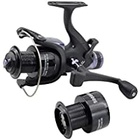 Hirisi Tackle Carp Fishing Reels Bait Runner with Extra Free Spool 5000RS