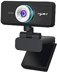 Lixada Hd Camera,S90 Hd Webcam With Mic Usb3.0 2.0 720P Adjustable 360°High-End Video Call Camera