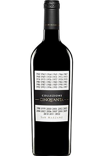 San Marzano Collezione Cinquanta Vino Rosso d\' Italia 0,75 L 2012 Rotwein trocken