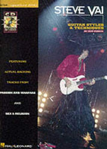 Steve Vai: Guitar Styles & Techniques: Guitar Styles and Techniques por Jeff Perrin