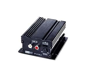 Sinustec Mini amplificateur bicanal pour scooter ou moto