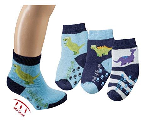 baby sock,6Pack,74/80,blau/schwarz