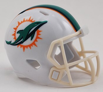 MIAMI DOLPHINS NFL Riddell Speed POCKET PRO MICRO / POCKET-SIZE / MINI Football Helmet